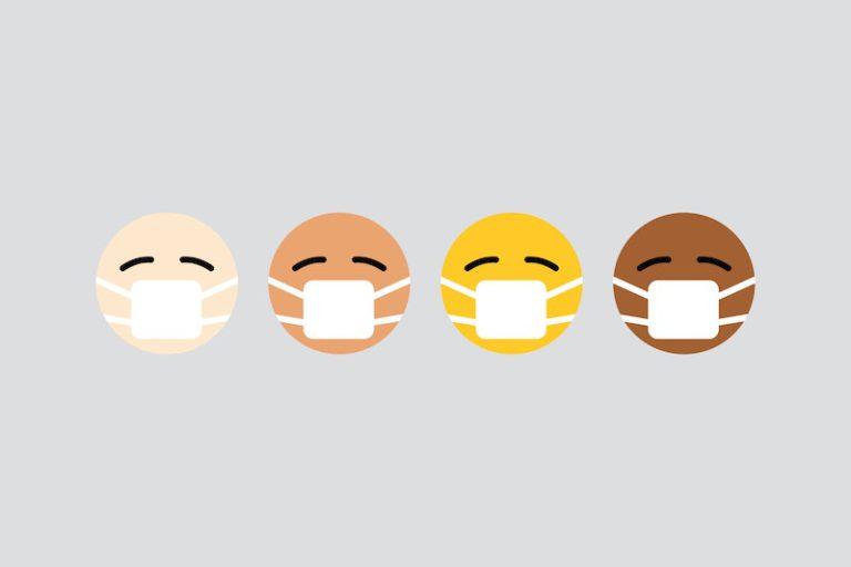 Emoji masques coronavirus covid