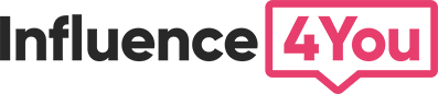 Logo Influence4you plateforme influence