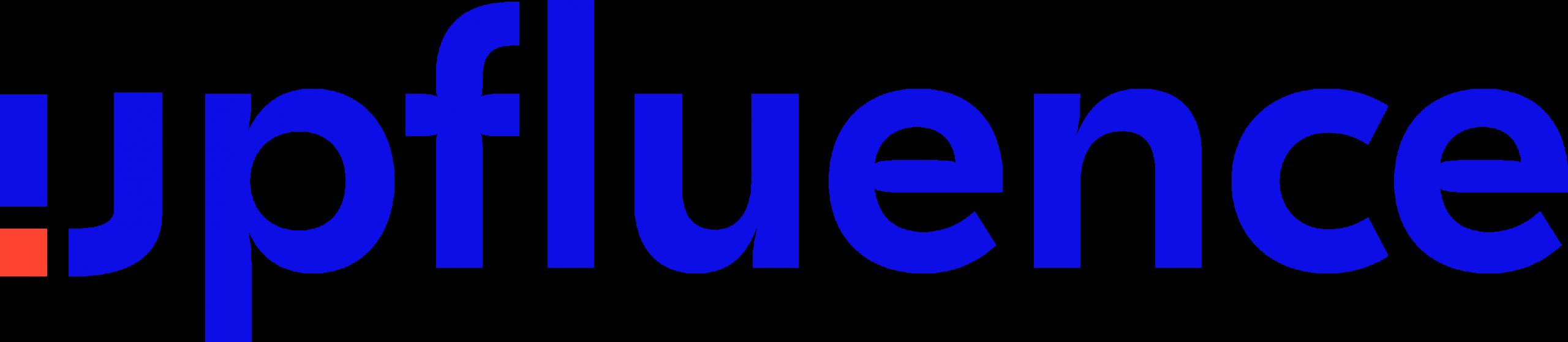 Logo upfluence plateforme influence