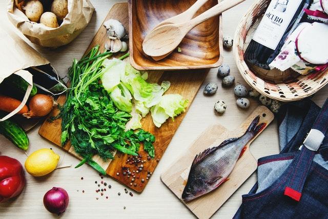 Préparation recette poisson